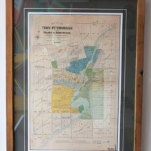 vintage Town of Peterborough and Village of Ashburnham map