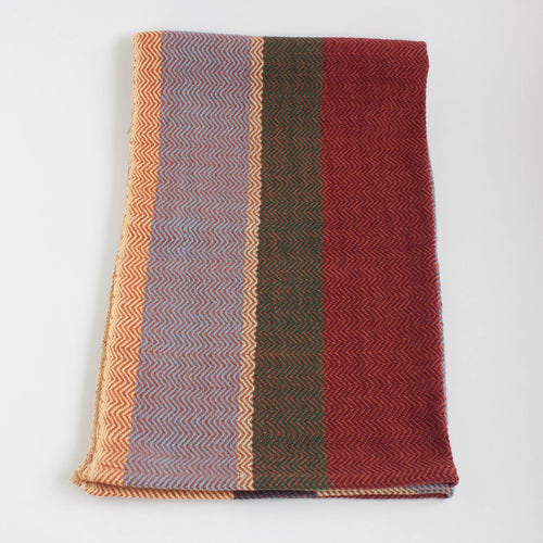 handwoven cotton tea towel - jellybean cafe