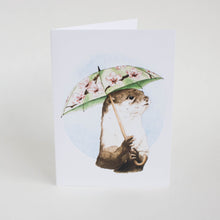 umbrella otter card