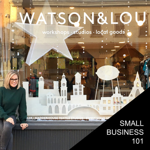 Small Business 101 - Saturday May 2nd, 1-3:30 pm