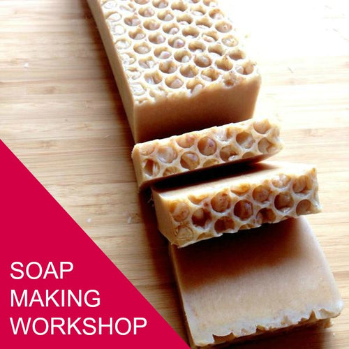 Soap Making Workshop - Saturday, March 17th - 1-4pm
