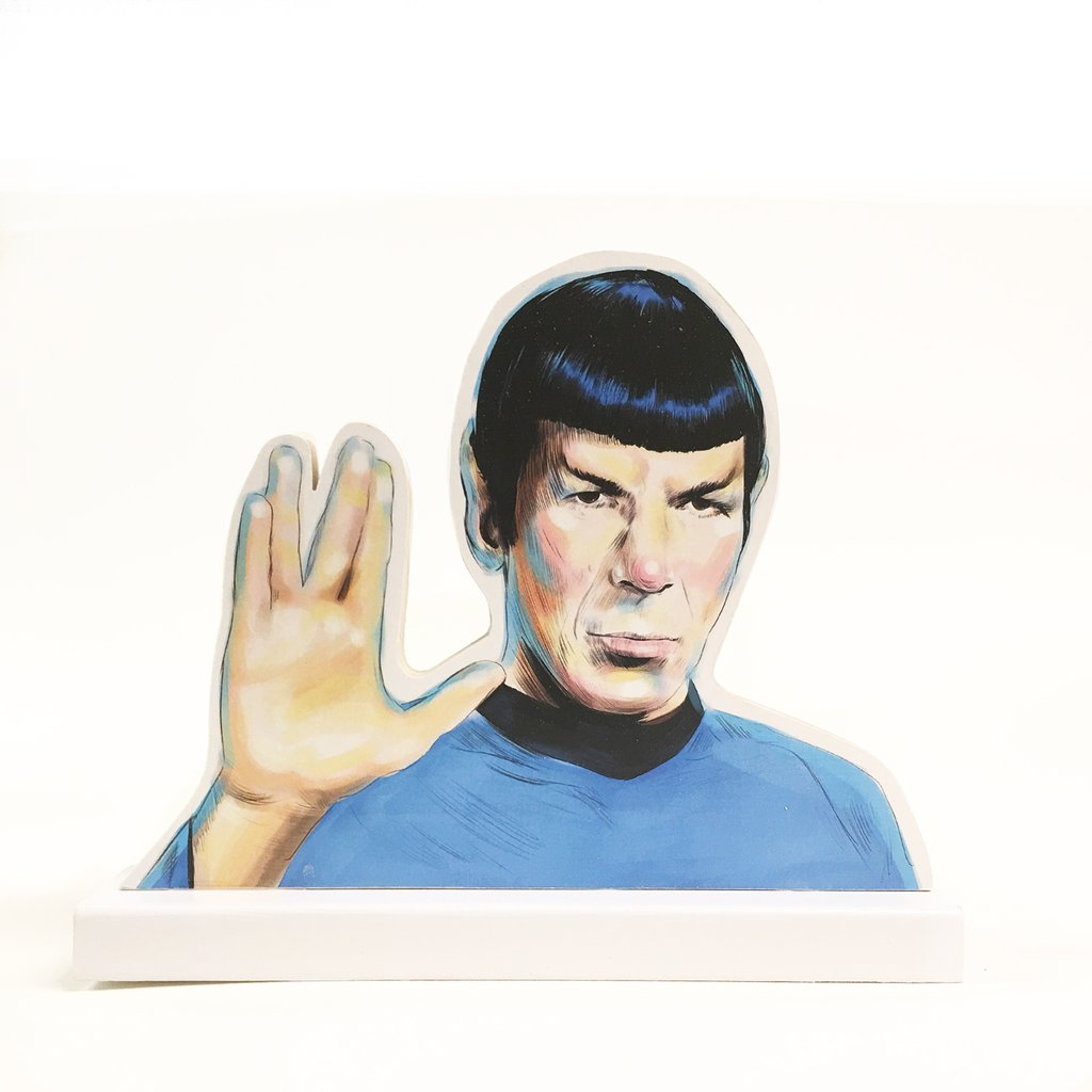 Spock standee