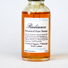 radiance botanical face serum