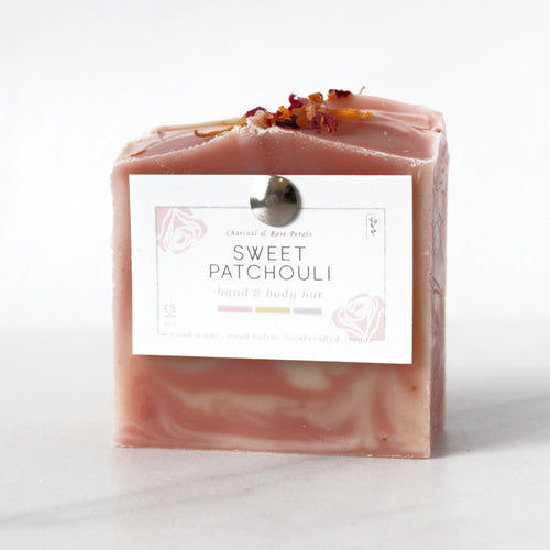 sweet patchouli hand and body bar