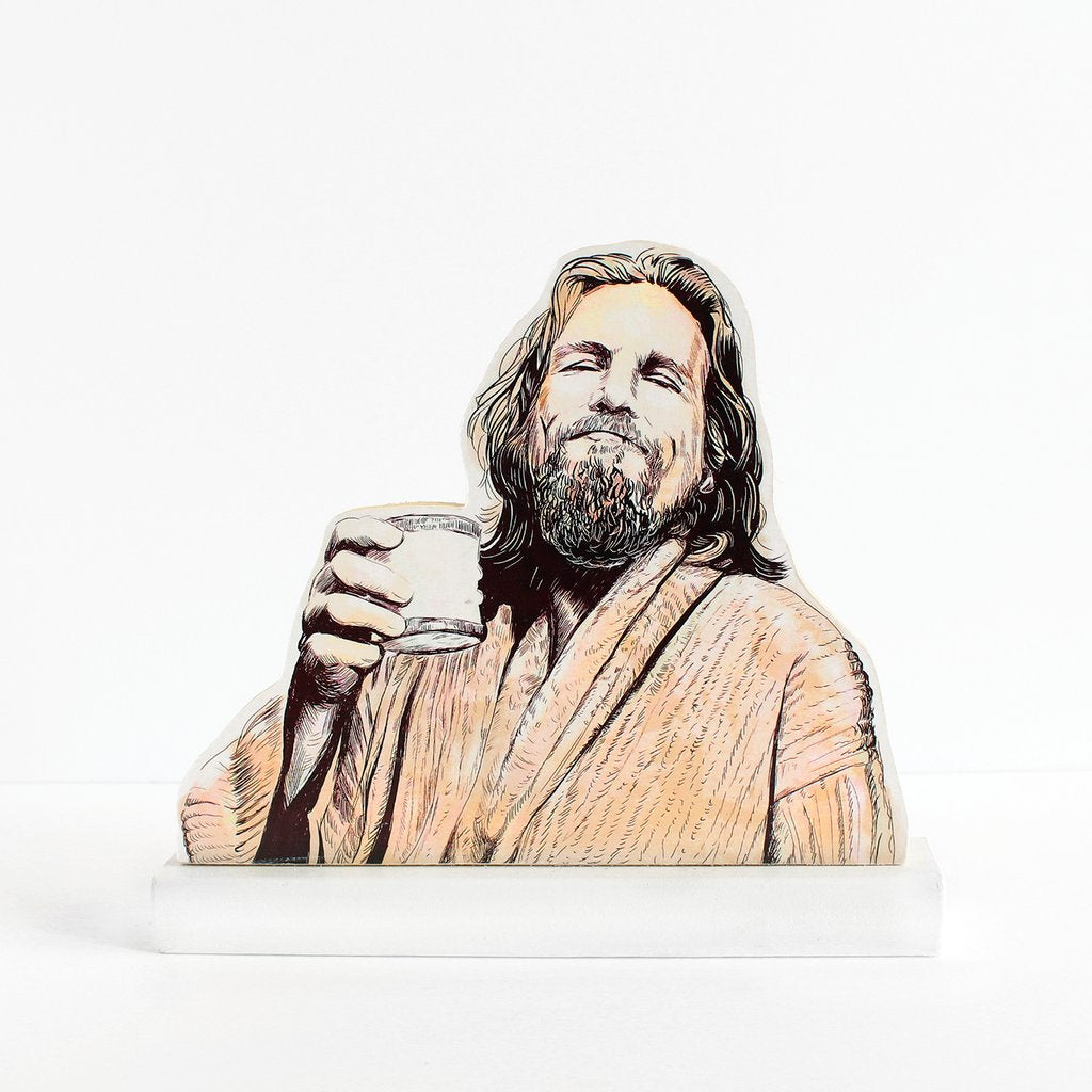 The Big Lebowski cultural standee