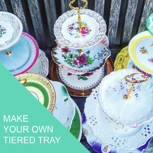 Tiered Tray Workshop - Saturday May 9th, 1pm-3pm
