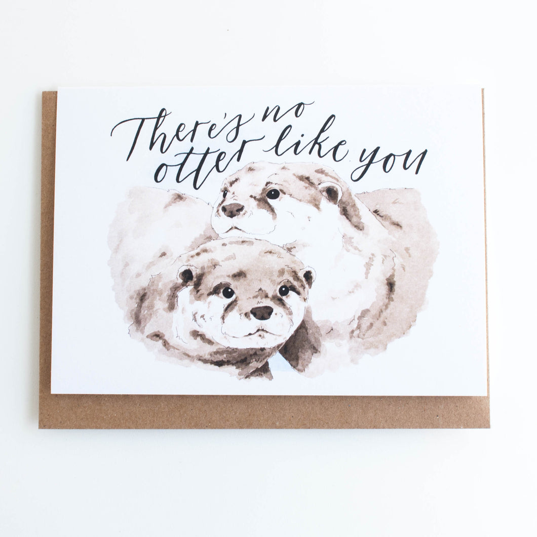 otter card - there's no otter like you