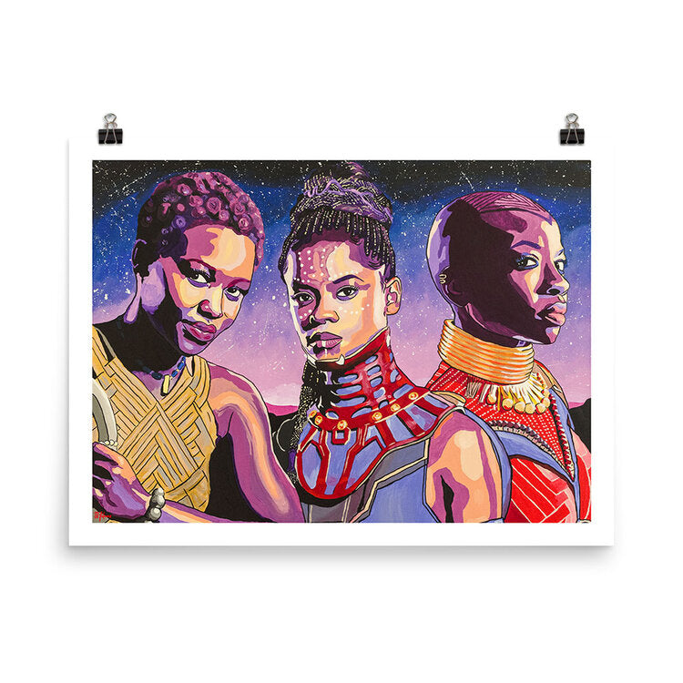 Women of Wakanda - 11x14