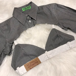 Plaid Crop Set