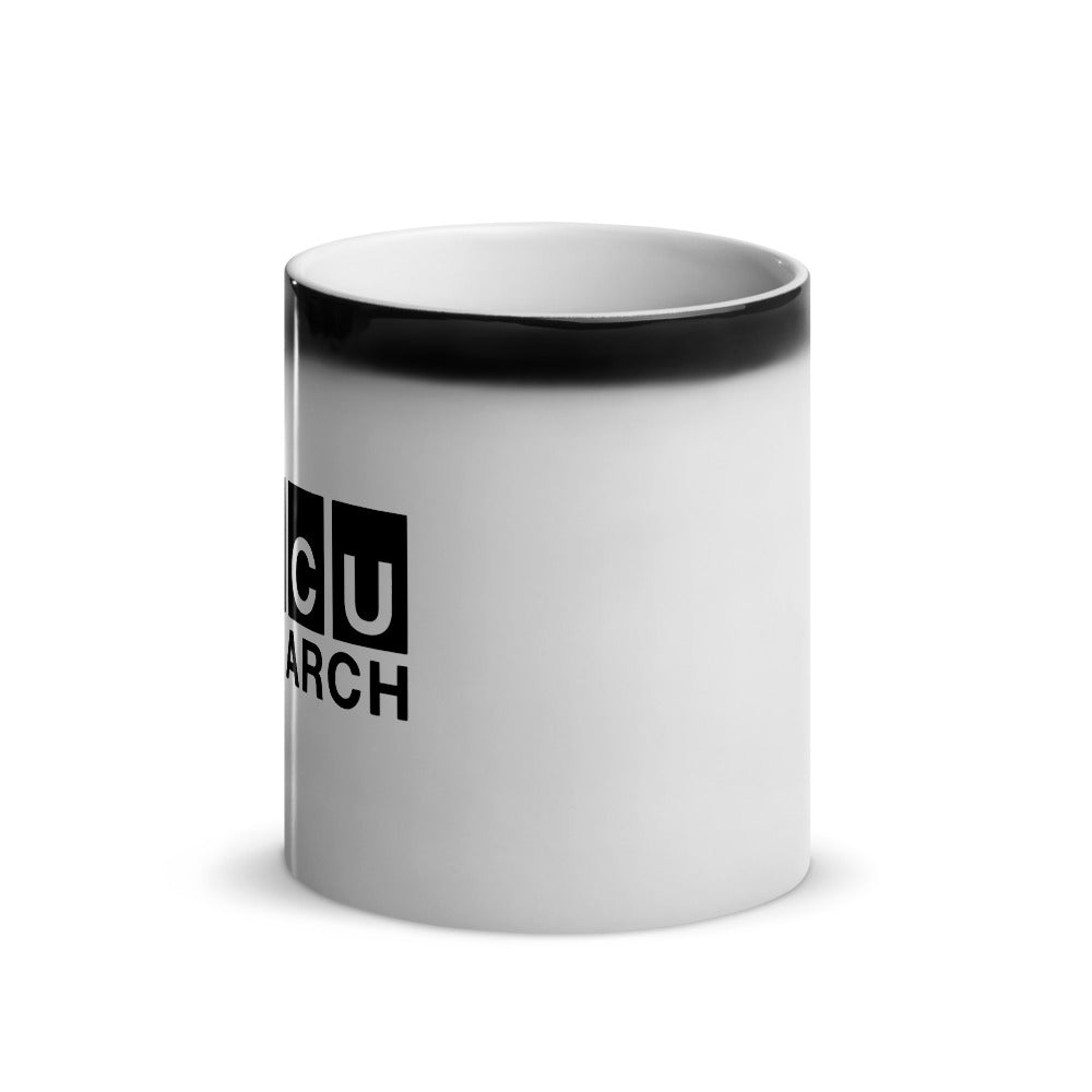 Black-Trim Magic Mug
