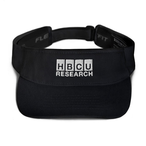Visor with White Logo