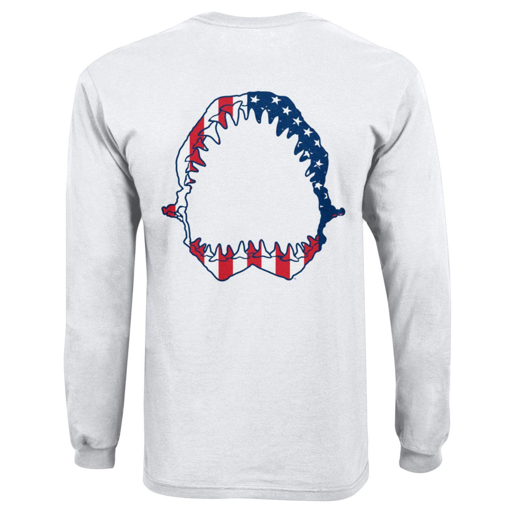Sharkbite Patriotic Flag Long Sleeve