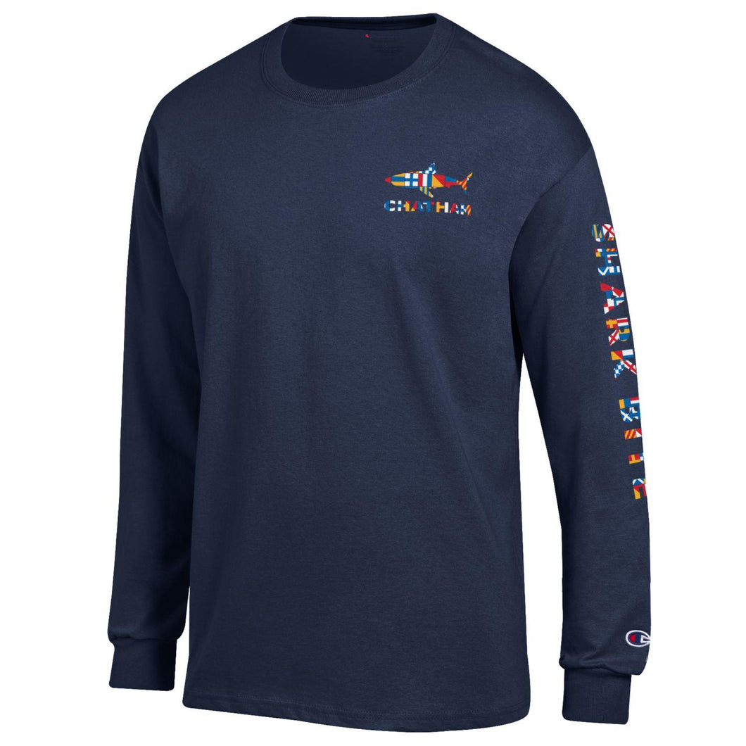 Sharkbite Nautical Flag LongSleeve