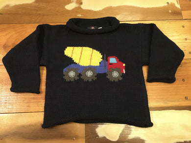 INFANT/TODDLER CEMENT TRUCK SWEATER