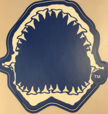 Shark Bite Decal Sticker