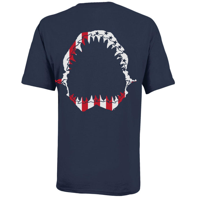 Kids Sharkbite Patriotic Short Sleeve