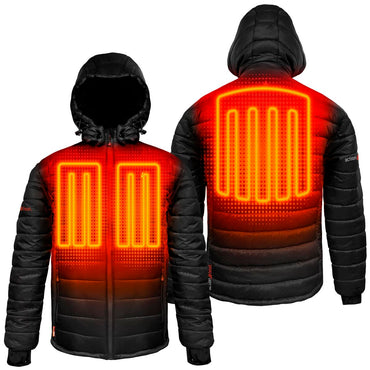 ActionHeat 5V Battery Heated Puffer Jacket for Kids - Front