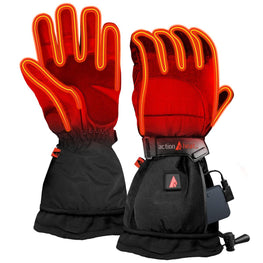 ActionHeat 5V Battery Heated Snow Gloves - Women's - Front