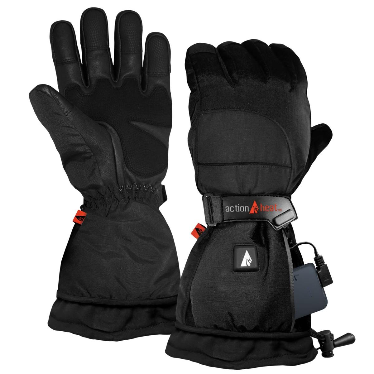 ActionHeat 5V Battery Heated Snow Gloves - Women's - Heated