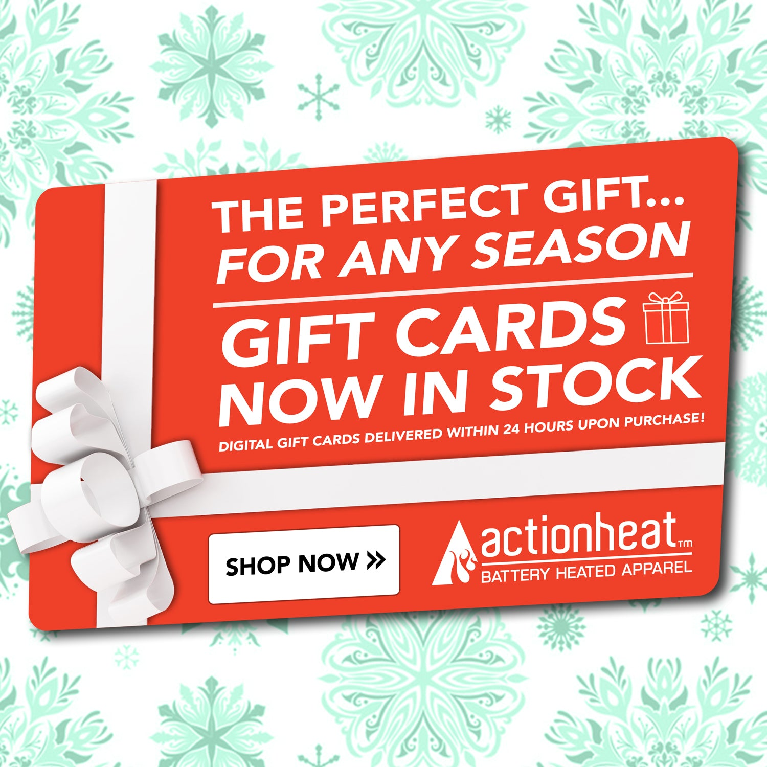 ActionHeat Apparel Gift Card