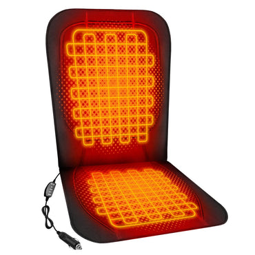 ActionHeat 12V Luxury Heated Car Seat Cushion - Back