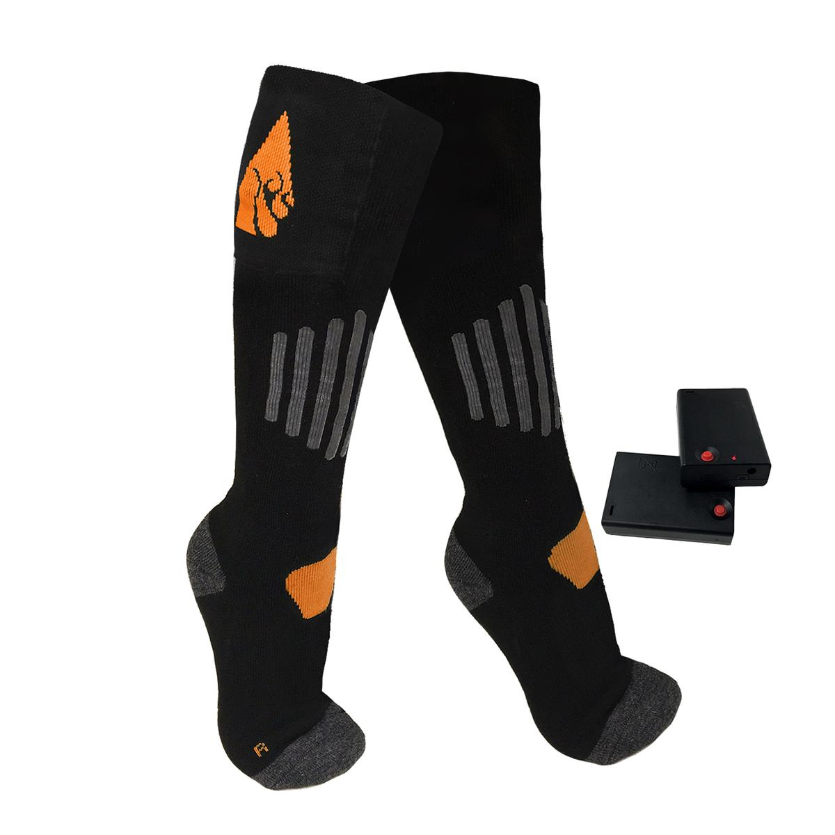 Open Box ActionHeat AA Heated Socks - Info