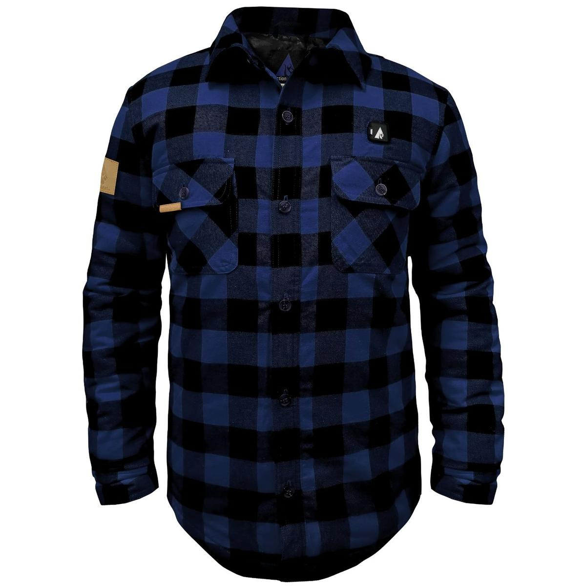 ActionHeat 5V Battery Heated Flannel Shirt - Heated