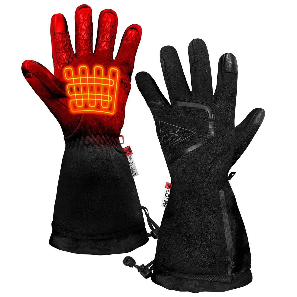 ActionHeat AA Women's Featherweight Heated Gloves - Front