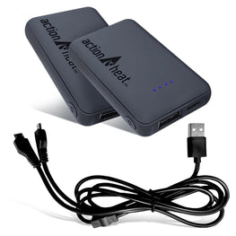 ActionHeat 5V 3000mAh Power Bank Kit - Back
