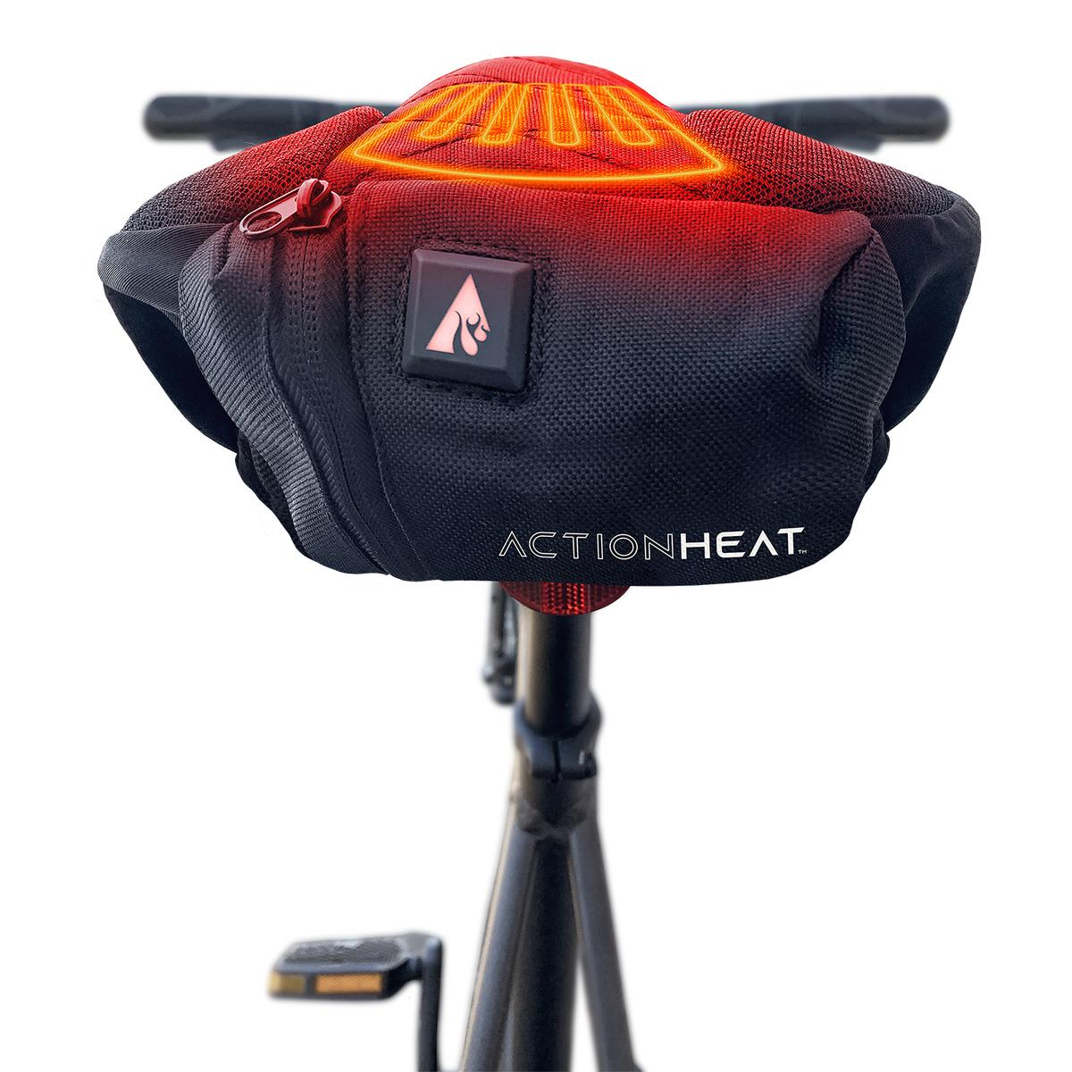 ActionHeat 5V Battery Heated Bicycle Seat - Size