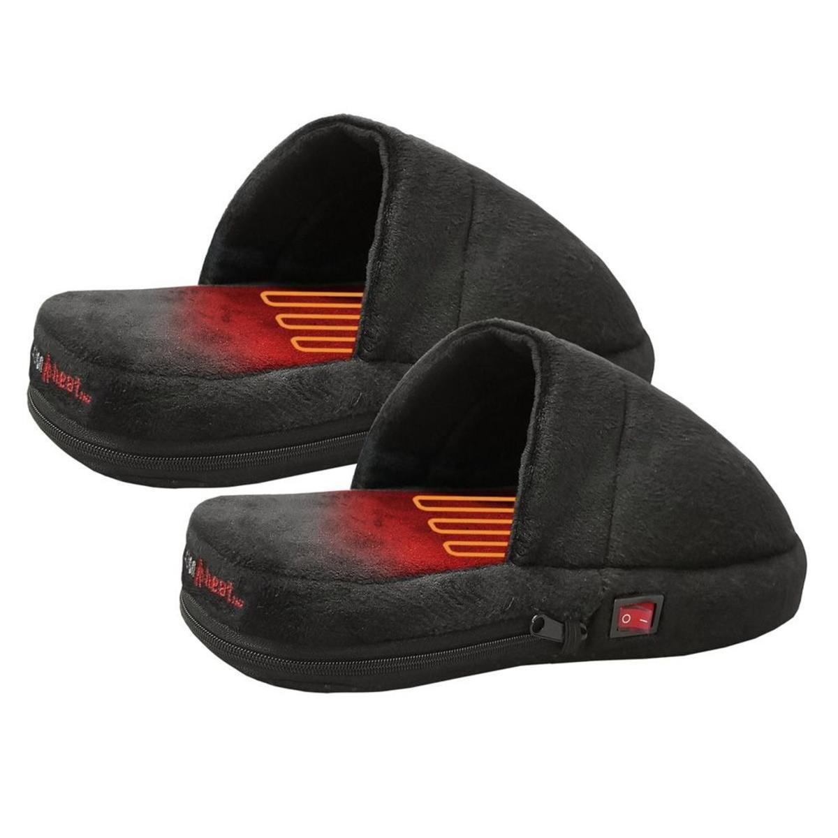 Open Box ActionHeat AA Battery Heated Slippers - Front