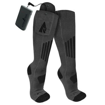 ActionHeat Wool 3.7V Rechargeable Heated Socks 2.0 with Remote - Size