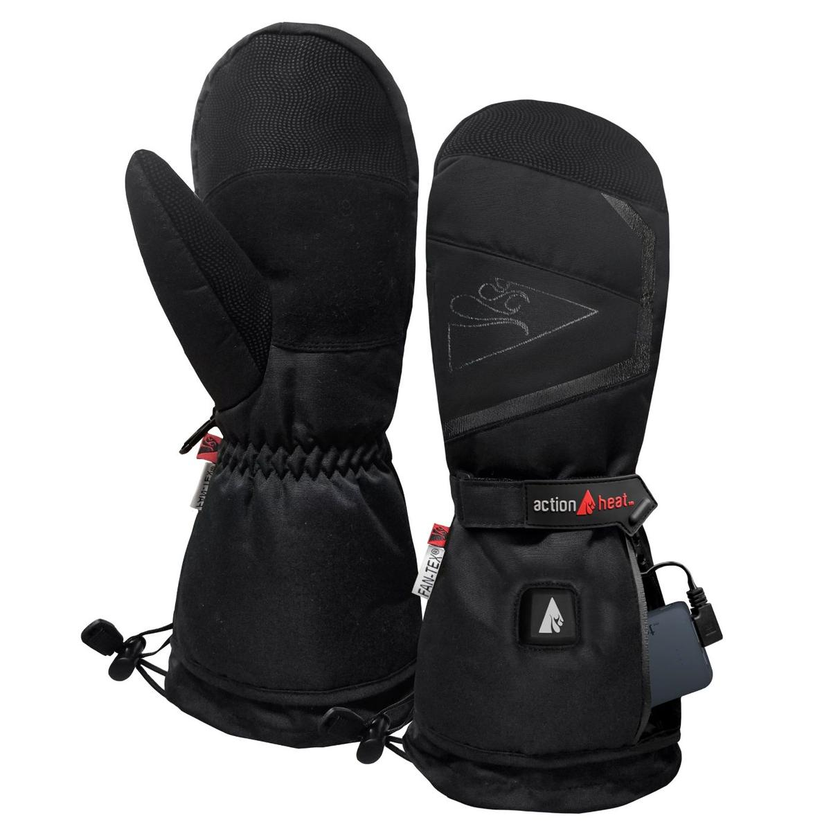 ActionHeat 5V Battery Heated Mittens - Heated