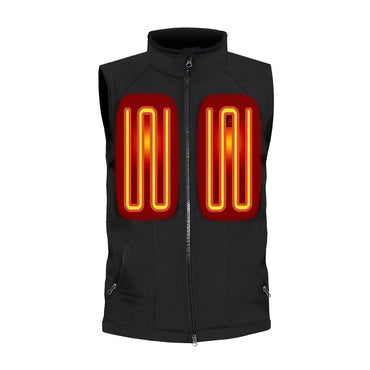 Open Box ActionHeat 5V Battery Heated Softshell Vest - Men's - Front