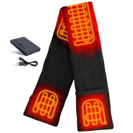ActionHeat 5V Battery Heated Fleece Scarf - Front