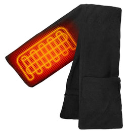 ActionHeat AA Battery Heated Scarf - Back
