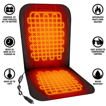 ActionHeat 12V Luxury Heated Car Seat Cushion - Info