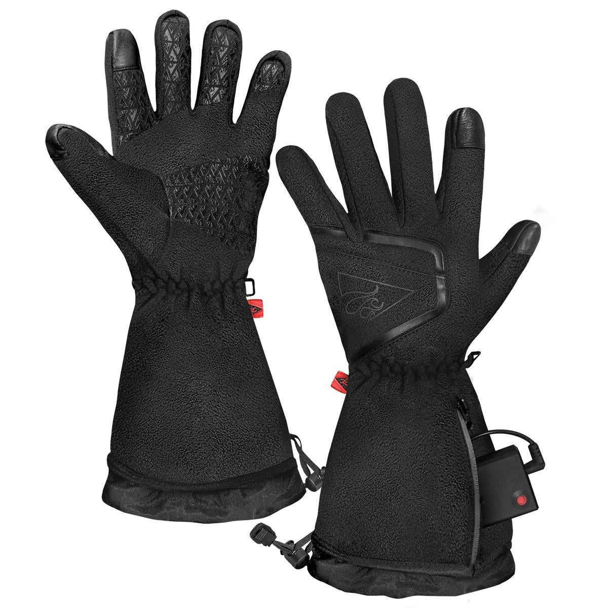 ActionHeat AA Women's Fleece Heated Gloves 2.0 - Info