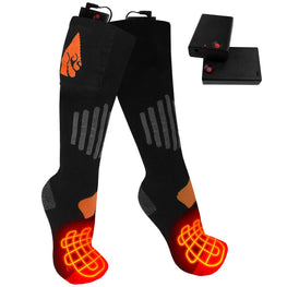 ActionHeat AA Battery Heated Socks - Wool - Back