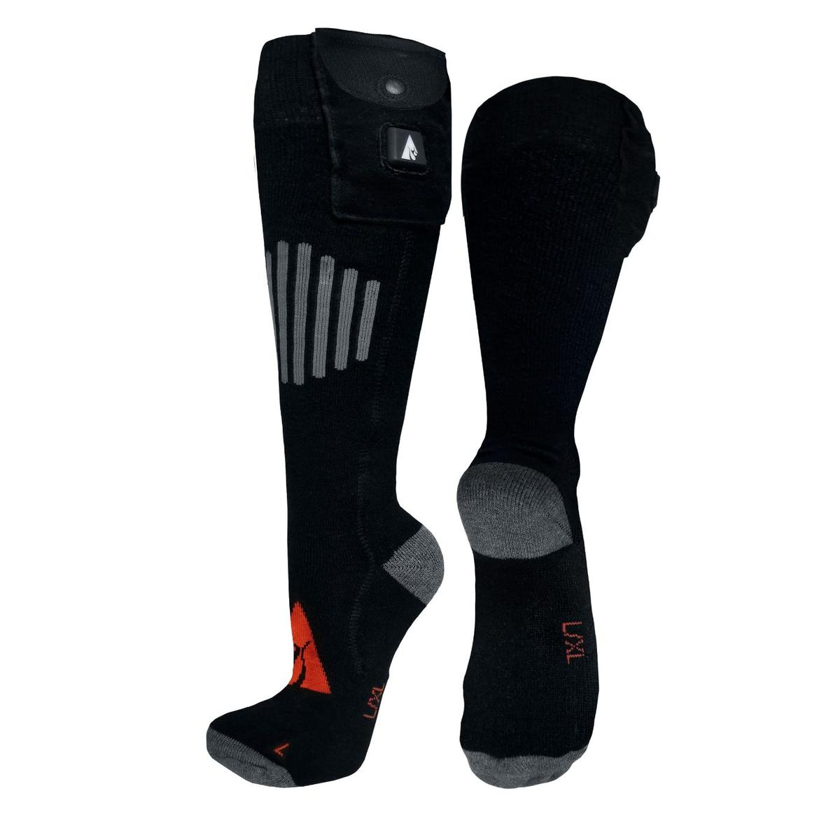 ActionHeat Wool 5V Battery Heated Socks - Replacement Socks Only - Front
