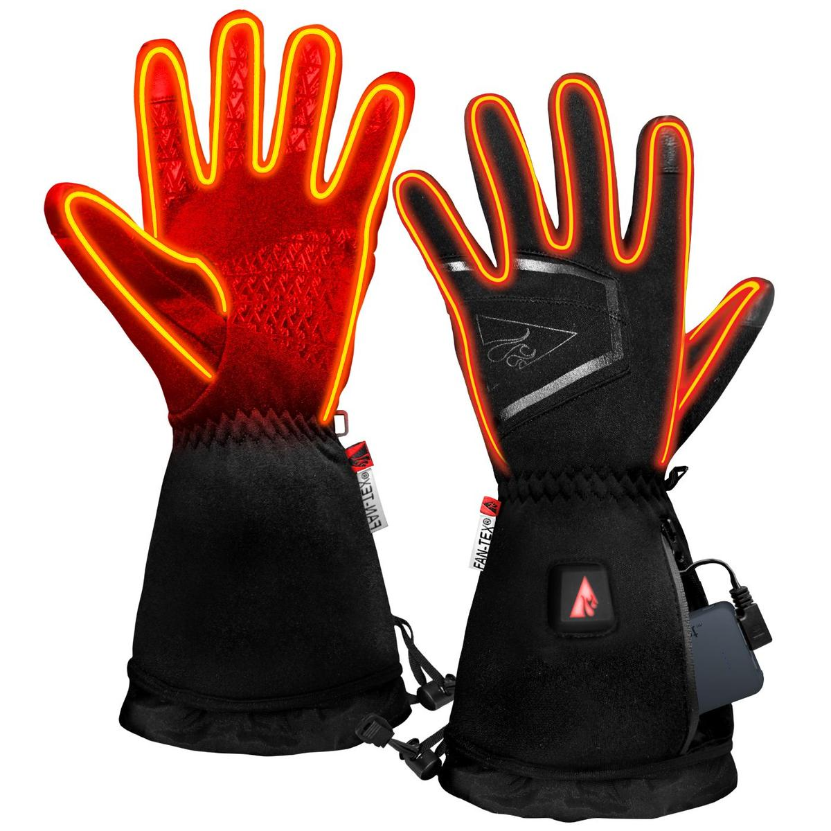 ActionHeat 5V Women's Featherweight Heated Gloves - Back