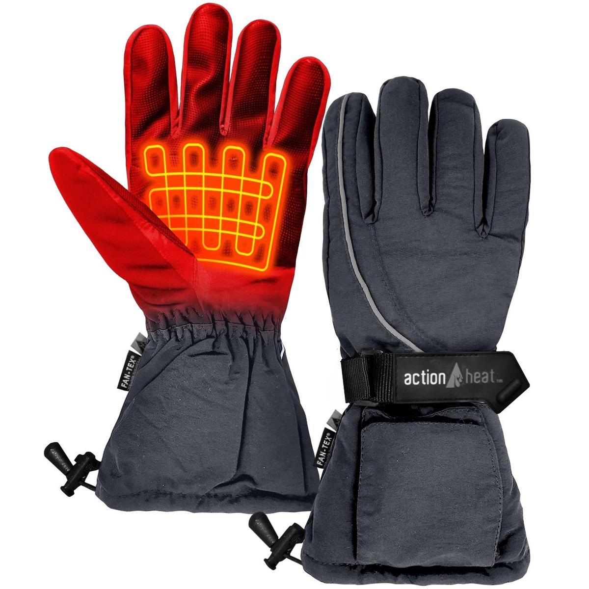 ActionHeat AA Battery Heated Gloves - Women's - Back