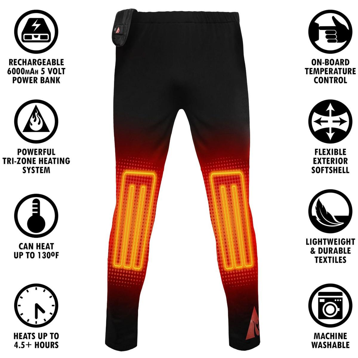 ActionHeat 5V Heated Base Layer Pants - Women's - Info