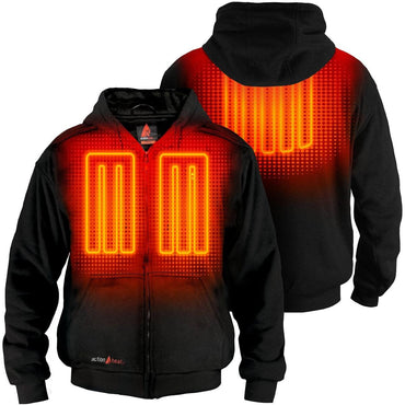 ActionHeat 5V Battery Heated Hoodie Sweatshirt - Back