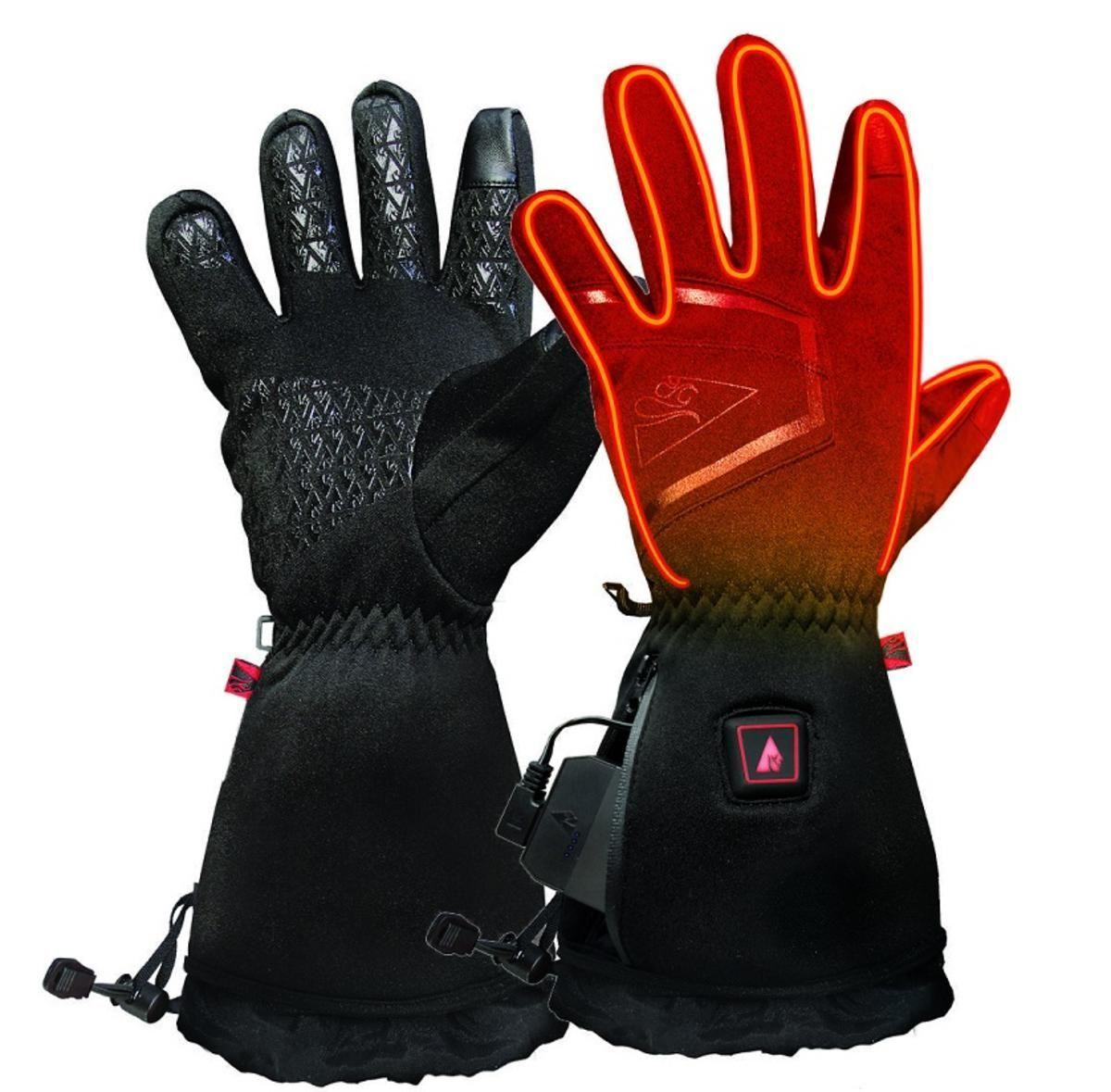 Open Box ActionHeat 5V Plush-Softshell Heated Gloves - Men's - Front