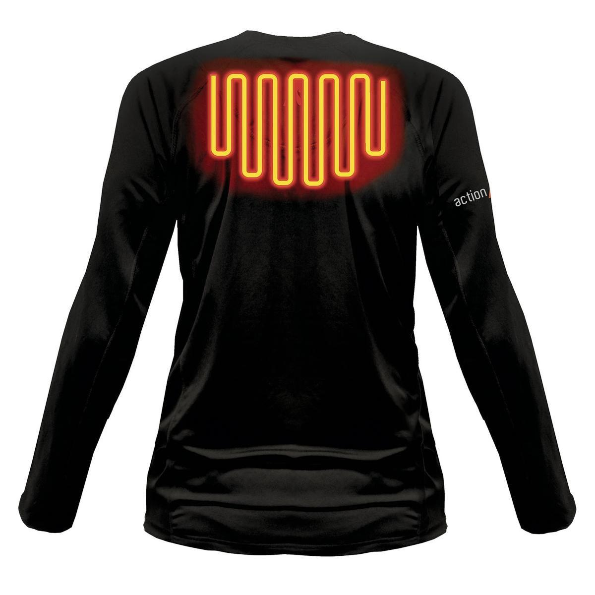 Open Box ActionHeat 5V Heated Base Layer Shirt - Women's - Back