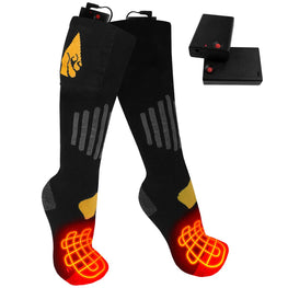 ActionHeat AA Battery Heated Socks - Cotton - Back