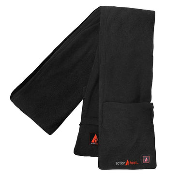 Open Box ActionHeat 5V Battery Heated Fleece Scarf - Front