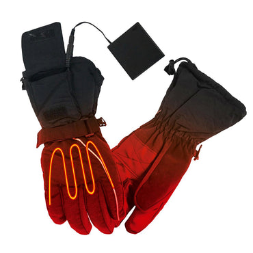 Open Box ActionHeat Men's AA Battery Heated Gloves - Front