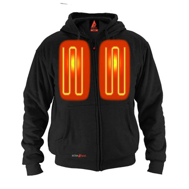 Open Box ActionHeat 5V Battery Heated Hoodie Sweatshirt - Heated